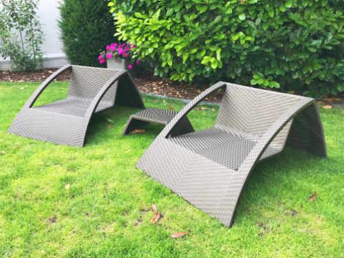 Rattan Gartenmöbel sind beliebt, pflegeleicht und Outdoor geeignet