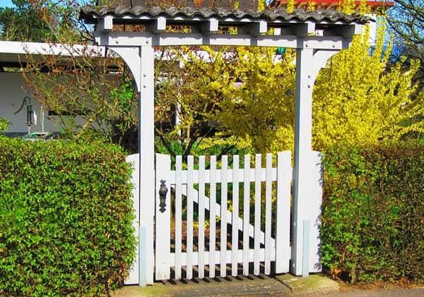 Das Gartentor als Visitenkarte für das Gartengrundstück