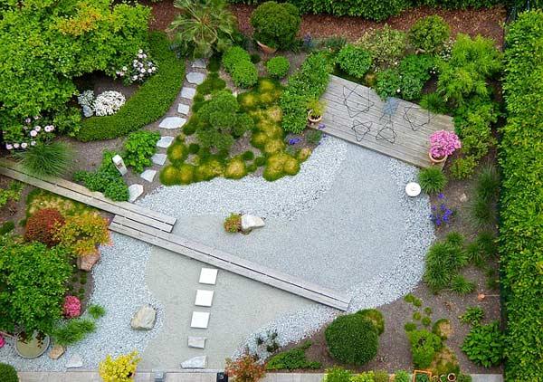 Einen Zengarten anlegen