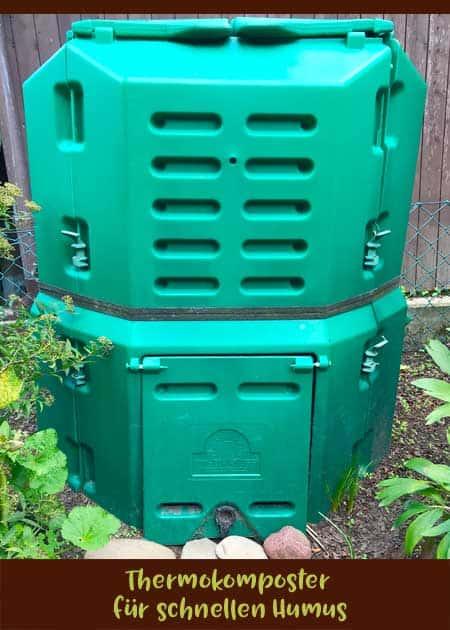 Thermokomposter für schnellen Humus
